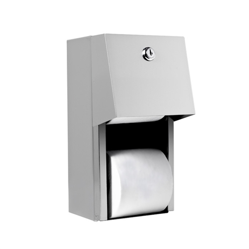 A Amp J Washroom U840 Dual Roll Toilet Tissue Dispenser