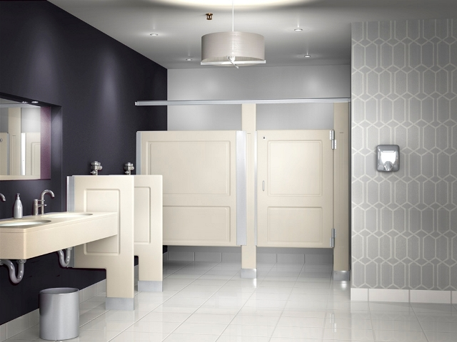 Resistall Toilet Partitions - Bathroom partitions chicago